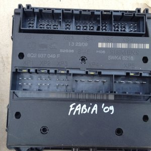 Calculator confort Skoda Fabia 2 cod 6Q2937049F