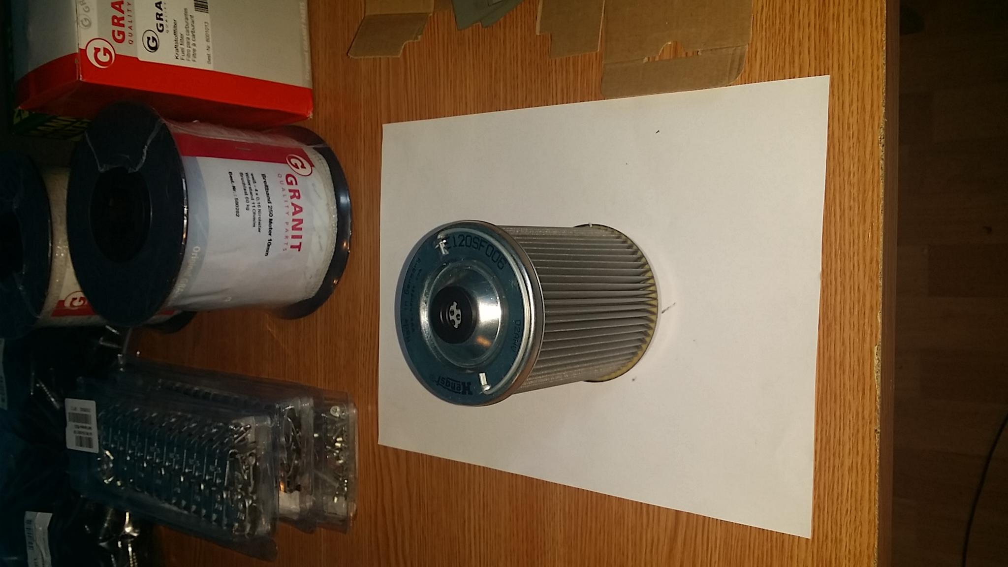filtru motorina claas atles