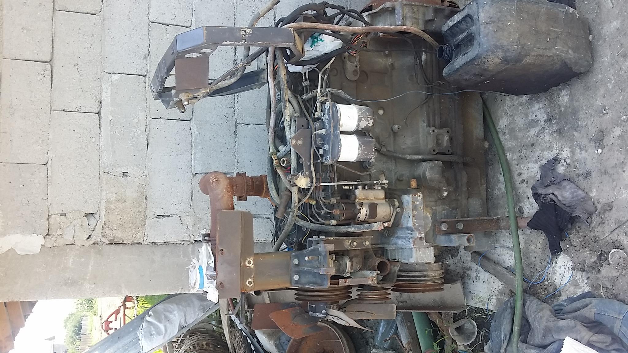 Vand motor perkins pentru tractor massey ferguson 130 cai