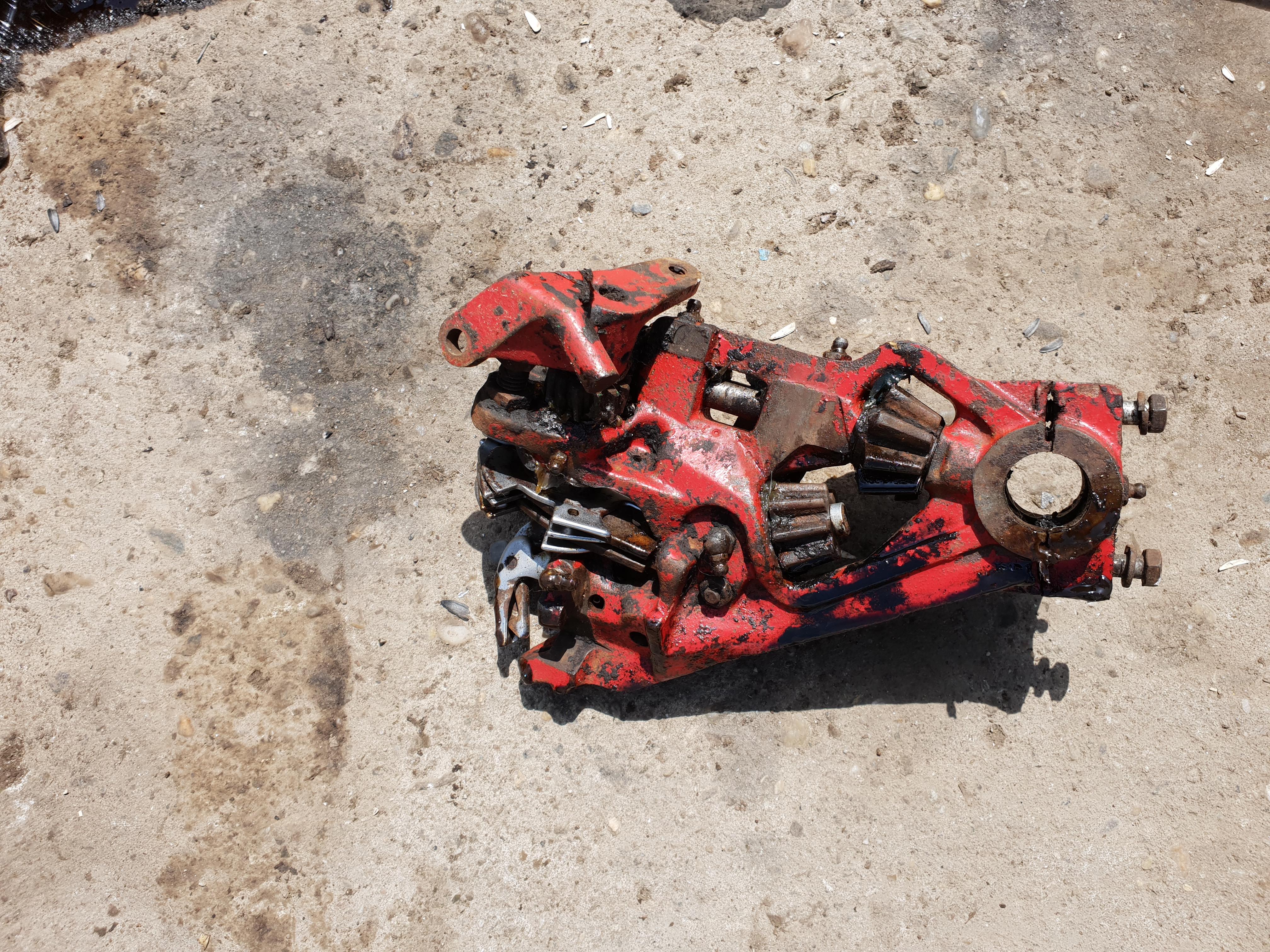 Corp inodator presa de balotat mccormick b47