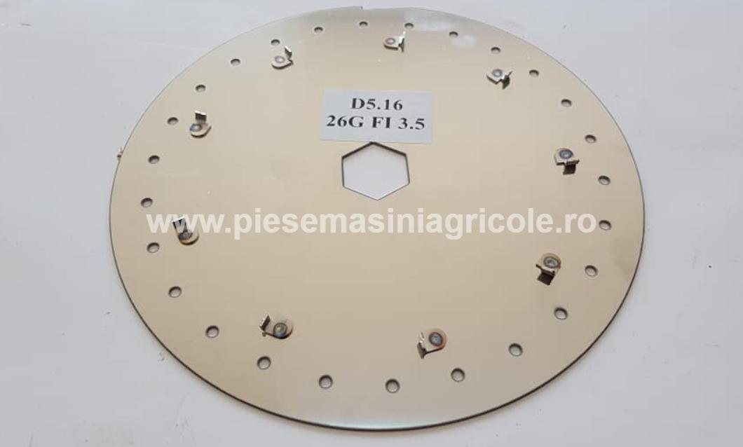 Disc  Semanatoare Gaspardo Porumb 26 Gauri 3.5mm