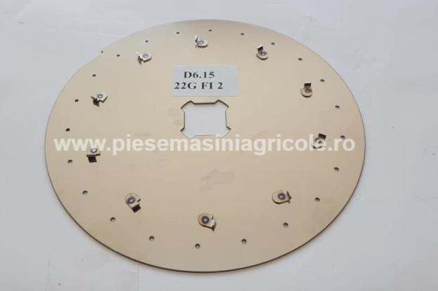 Disc Semanatoare nodet 22 Gauri 2.1 mm