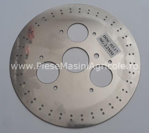 Disc semantoare monosem cod d3.17,36 gauri 2.2 mm