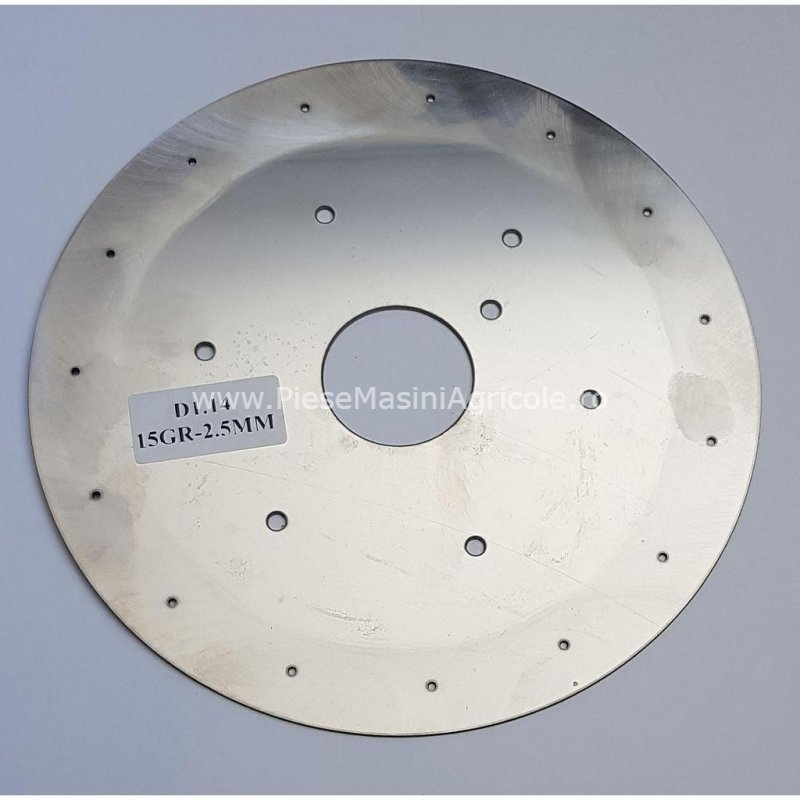 Disc semanatoare monosem 15 gauri cu 2.5 mm  cod d4.14