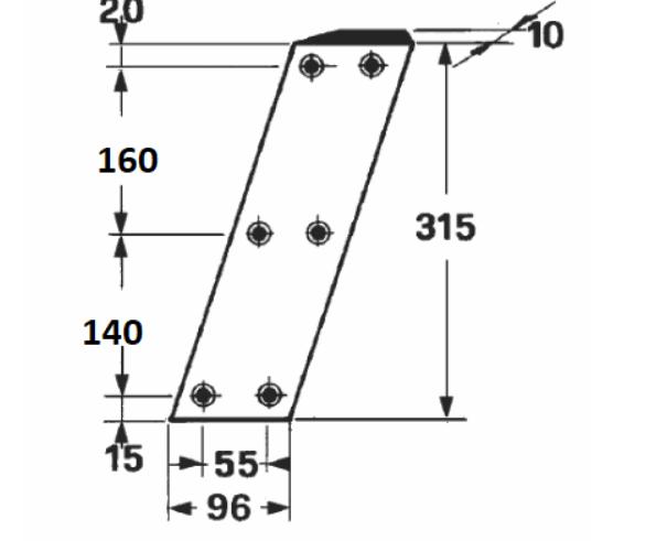 Cutit piston markant 55 60 65,140-160mm