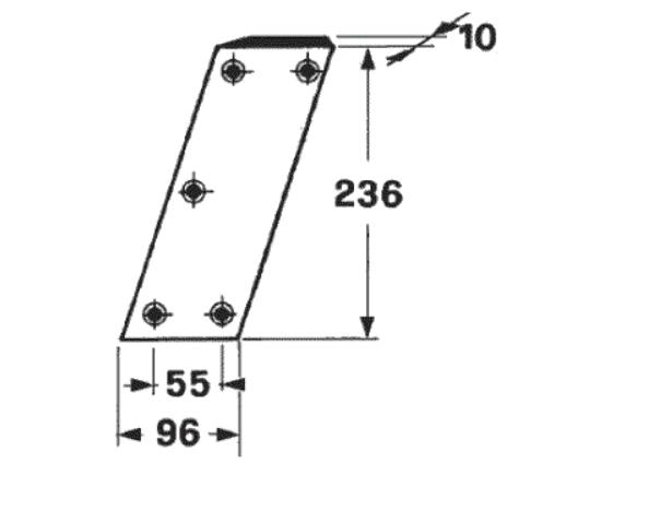 cutit piston presa de balotat claas markant 40 ,41