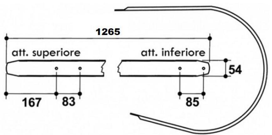 tabla pick-up presa de balotat rivierre casalis KR40TS, KR49G,RC42