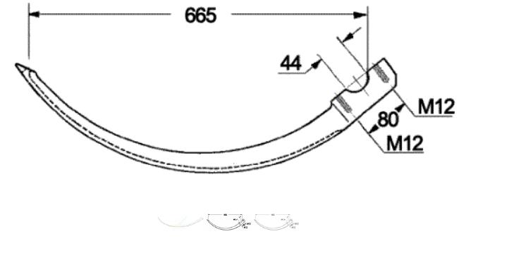 ac presa de balotat rivierre casalis model ER45, RC46
