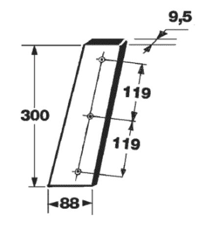 cutit piston presa de balotat gallignani model 1690,3690, 5690,1600,2600
