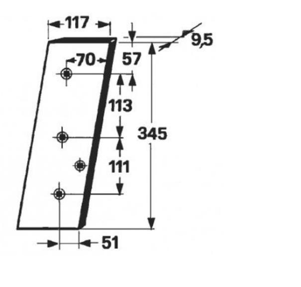 cutit piston presa de balotat gallignani 145,146,148,4200,4500,4600,5000,5100,5190,6000,6100,6190,